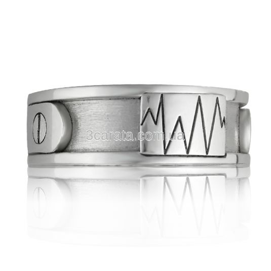 Обручальное кольцо c гравировкой
