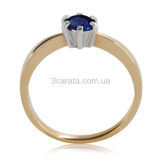 Помолвочное кольцо c большим сапфиром 0,5 Ct «Рейчел»