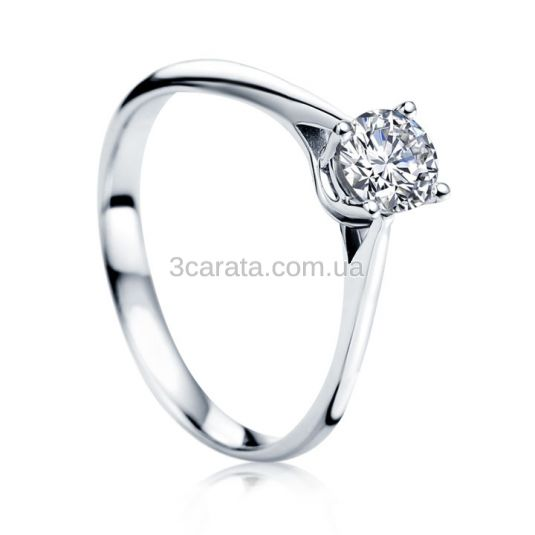 Золотое кольцо с бриллиантом 0,25 карат «My dream»