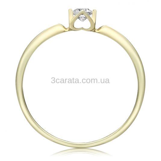 Кольцо для предложения с кастом в виде сердца «Amour Classique»