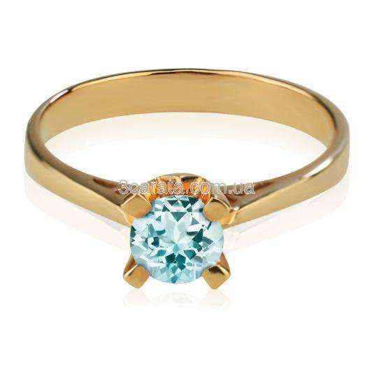 Кольцо для помолвки с топазом «Элис»