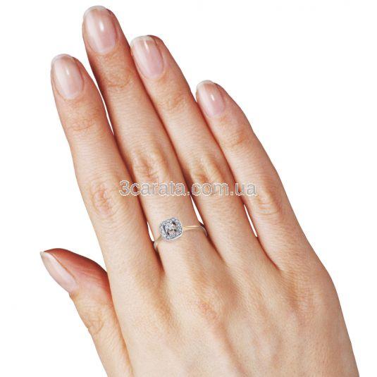 Кольцо с бриллиантами «Королевская роскошь»