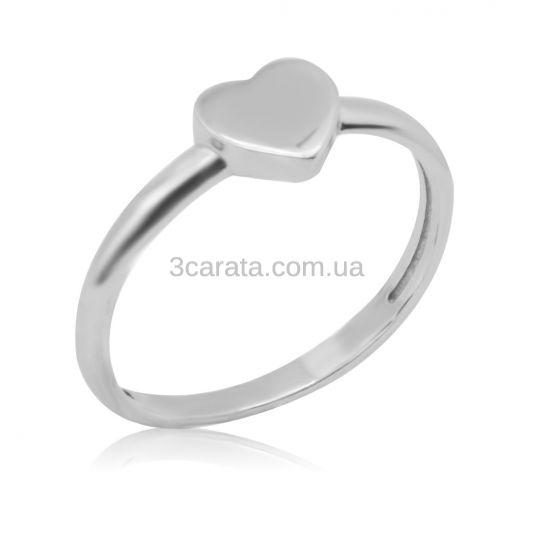 Золотое кольцо с сердечком «San Valentin»
