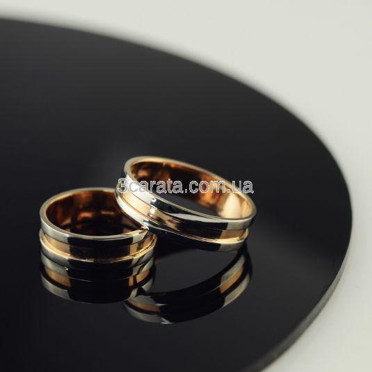 Широкое обручальное кольцо без камней «Альянс»