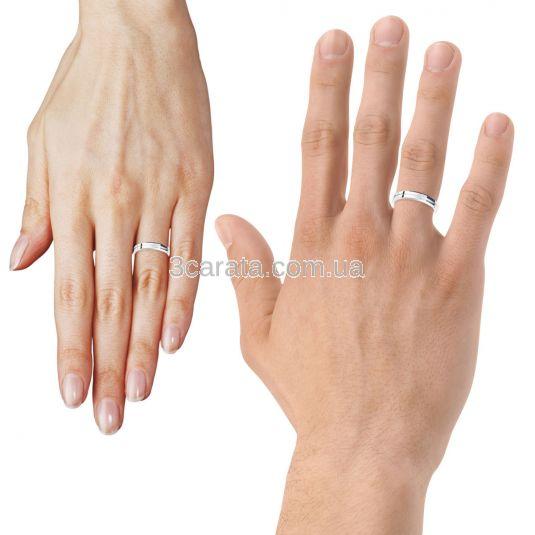 Обручальное кольцо «Road to love»