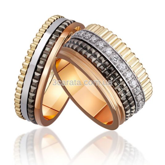 Обручальное кольцо без вставок в стиле Boucheron «VIP»