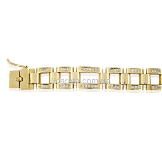 Золотой браслет «Денди»