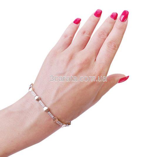 Золотой браслет из золота «Элизи»