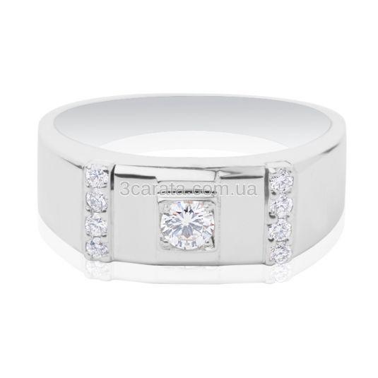Золотой перстень с бриллиантами «Зевс» 09b24d5b242