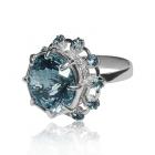 Золотое кольцо с топазом «Лучия Фьезоле»