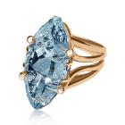 Золотое кольцо с топазом «Баттиста Риччоли»