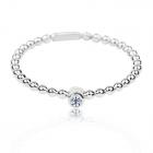 Золоте кільце з діамантом «Yanita»