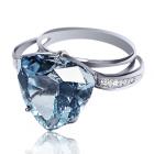 Золотое кольцо с топазом «Abano Terme»