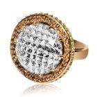 Золотое кольцо с цитрином «Isadora»