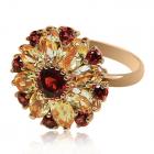 Золотое кольцо с цитрином «Il sole di Sicilia »