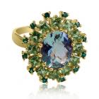 Эксклюзивное золотое кольцо «Луция дель Марэ»