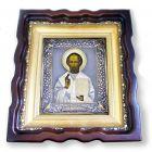 Срібна ікона «Микола Чудотворець»