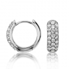 Золотые серьги с бриллиантами «Callisto»