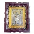 Срібна ікона «Свята мучениця Світлана»