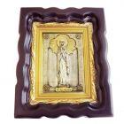 Серебряная икона «Святая мученица Людмила»