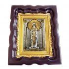 Серебряная икона «Святой Василий»