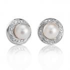 Золоті сережки з перлами «Ladislao»