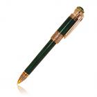 """Серебряная ручка с позолотой и цирконами """"Porrima"""""""
