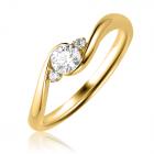 Кольцо для помолвки с бриллиантами «Laurina»