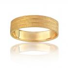 Золотое обручальное кольцо «Трио»
