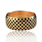 Золота обручка «Aida-II»