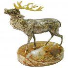 Серебряная статуэтка «Благородный олень»