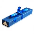Длинная подарочная упаковка с бантом для цепочки