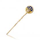 Значок золотий з гербом «Україна»