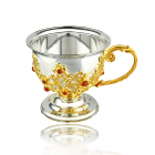 Серебряная кружка чайная