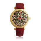 Золотий годинник з емалллю «Serena»