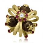 Золотое кольцо с жемчугом «Санта-Мария дель Мараколи»