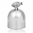Серебряная рюмка «Рыба»