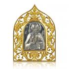 Серебряная икона «Господь Вседержитель»