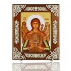 Серебряная икона Святого Михаила