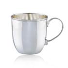 Серебряная кофейная чашка «Италия»