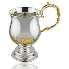 Кружка срібна чайно-кавова «ТЕТ-А-ТЕТ»