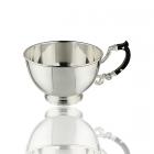 Чашка серебряная