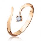 Кольцо с бриллиантом на помолвку