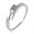 Каблучка з діамантом на заручини