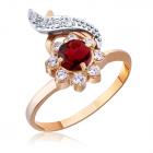 Золотое кольцо с гранатом «Эсферо»