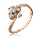 Золотое кольцо с бриллиантом «Marcella»