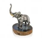 """Серебряная статуэтка """"Слон"""""""