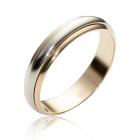 Обручальное кольцо без камней «Навеки вместе»