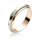 Обручальное кольцо «Навеки вместе» с бриллиантами