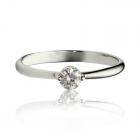 Золотое кольцо с цирконием «В Париже»